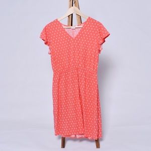 GAP coral sundress size Large